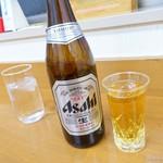 龍 - 2017年11月 びんビール【450円】瓶しかありませんでした~(^-^;