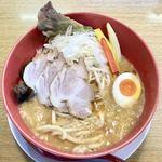 なおじ - 海老味噌ラーメン¥900+大盛無料