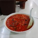 たんたん - 料理写真:たんたんメン ウルトラスーパーメチャ辛(麺固め)