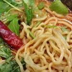 担々麺 蜀香 - 麺がもちもちしてて、美味しいです。