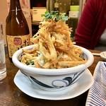 根魚 静 - 牛蒡のシーザーサラダ