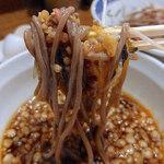 79593227 - 肉盛りつけ蕎麦・大盛(880円)