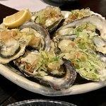 79594404 - 茹で牡蠣のポン酢かけ