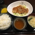 燻製居酒屋 くゆり - トンテキ定食
