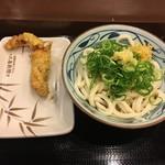 丸亀製麺 - ぶっかけ大 かしわ天