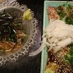 博多青魚 さばさば - 胡麻鯖 生と炙り