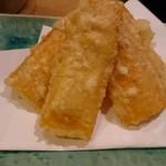 博多青魚 さばさば - とうもろこし天ぷら
