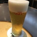 桃兵衛 - アサヒスーパードライ 樽生ビール