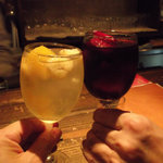 cafe and bar SOL - 隊長と乾杯♪