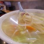 中華料理タカノ - タンメン 500円