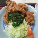末げん - 料理写真:から揚げ定食