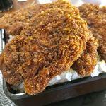 小鳥食堂 - ソースカツ重【料理】