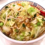 どうとんぼり神座 - 野菜いっぱいラーメン