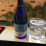 寿し処 喰道楽 - 飛島のごどいもで作った焼酎 海猫