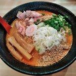 麺極 はなみち - 激辛味噌(レベル1)