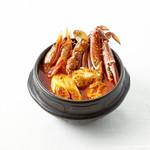 ワタリ蟹と甘海老
