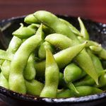 天王寺 個室空間×創作ダイニング みやび Abeno Dining - 枝豆
