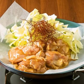 【当店名物】選べる味!鶏!鶏ちゃん焼き