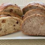 こんがりパン屋さん - 料理写真:いちじく・くるみ