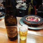 だるま - 瓶ビール(\630)