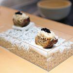 サンプリシテ - 毛蟹 キャビア ボルディエバター