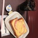 トラジャコーヒー - モーニングセット(390円)