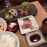 簓 - 前菜・デザート以外の肉料理膳