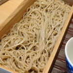 赤坂茶房 - *お蕎麦は風味には欠けますけれど、普通に美味しい。量もタップリ。