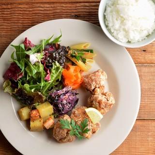 ●たくさんの野菜と旬の食材を使用したお料理♪