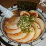 79615220 - 醤油らぁ麺 チャーシュー+味玉