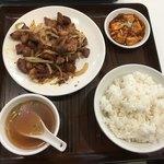79615881 - ラム肉のクミン風炒め定食
