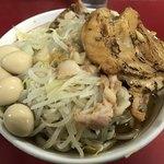 蓮爾 - 料理写真:【2018.1.13】蓮えびラーメン¥800+巻きチャア(炙り)¥200+うずら¥100