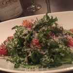 kicchinandoba-sanku - ルッコラと苺のサラダ