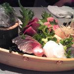 海の幸こうたろう - 料理写真:お刺身の盛り合わせ1900円