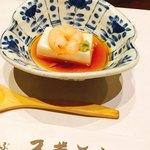 スギモト - すき焼きランチに付いてくる胡麻豆腐‼