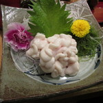 あきよし - 鱈の白子の刺身