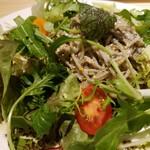 十割つけ蕎麦ムラマサ - イタリアン十割蕎麦サラダ
