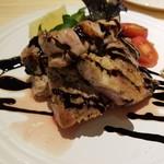 十割つけ蕎麦ムラマサ - ひこま豚のポークグリル