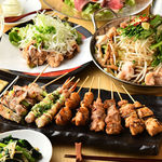 炭火串焼 いただきのとなり - 炭火焼で焼き上げる贅沢料理をふんだんに取り揃えたご宴会コースをご用意!!