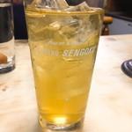 あるぷす - 緑茶割り