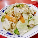 豚珍行 - 2日目の野菜炒め様w