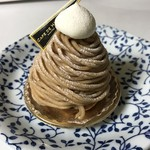 カフェ ド ヒラオカ - 和栗のモンブラン=320円