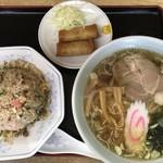 天心楼 - 料理写真:Aセット850円