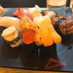 すし重 - 料理写真:上にぎり 美味しかった!!