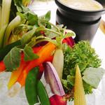 79628373 - 10種野菜のバーニャカウダ/自家製アンチョビ・ソース