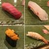 Isami - 料理写真:中トロ、タイ、ウニ、エビ