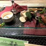 鉄板焼き ステーキ 湛山 -