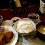 おもてなし - 料理写真:美味しいランチでした。これで500円!