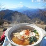 79631882 - 富士山を見ながら食べます♪。