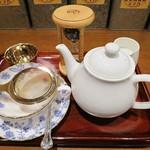 紅茶浪漫館シマ乃 - 紅茶のセット